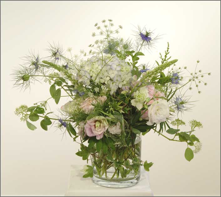 English Garden Floral Arrangements