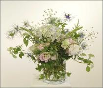 English Garden Flower Arrangement- summer flowers
